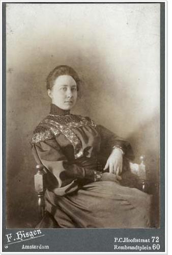 De echtgenote van Alphons Diepenbrock